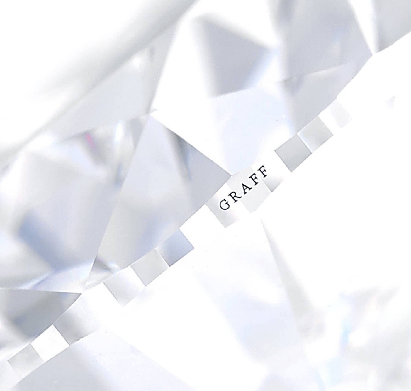 Graff Diamond engraved with Graff name