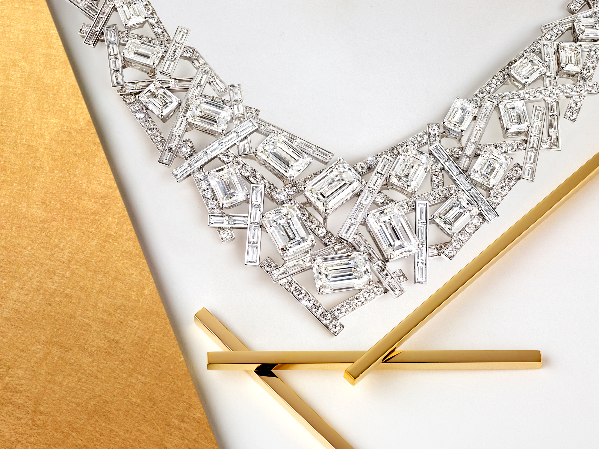 Threads jewellery collection Diamond High Jewellery Necklace from Graff